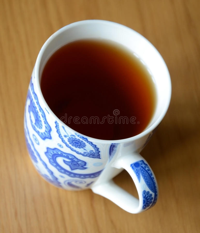 Copo do chá fotografia de stock