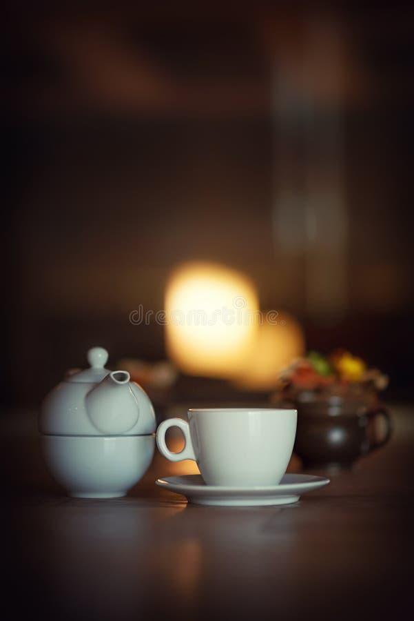 Copo do chá - conceito do chá fotos de stock