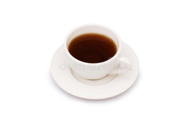 Copo do chá isolado fotografia de stock royalty free