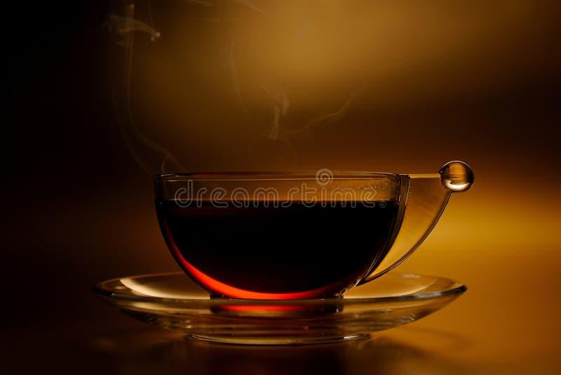 Copo do chá quente foto de stock