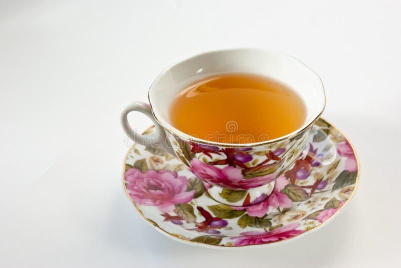 Download Copo do chá verde foto de stock. Imagem de placa, verde - 12805170