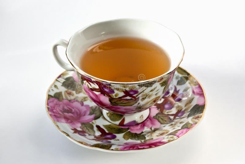 Download Copo do chá verde foto de stock. Imagem de chá, isolado - 12805204