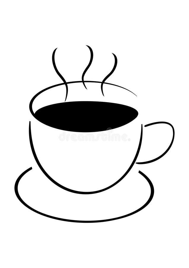 Download Copo Do Cofee, Ilustração Do Vecor Ilustração do Vetor - Ilustração de prazer, manhã: 12803695
