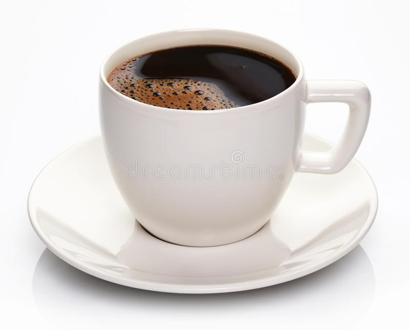 Download Copo e saucer de café foto de stock. Imagem de líquido - 26510812
