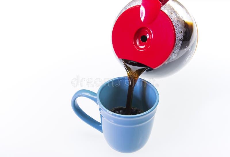 Copo fresco do café quente foto de stock royalty free