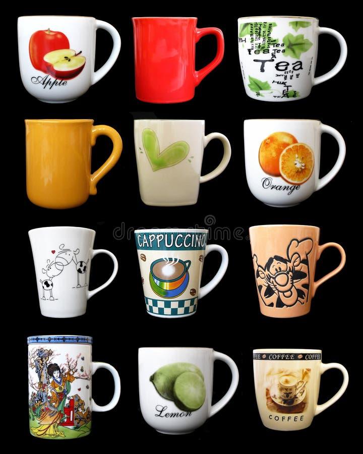 Download Copos foto de stock. Imagem de chinês, handmade, colorido - 10661150