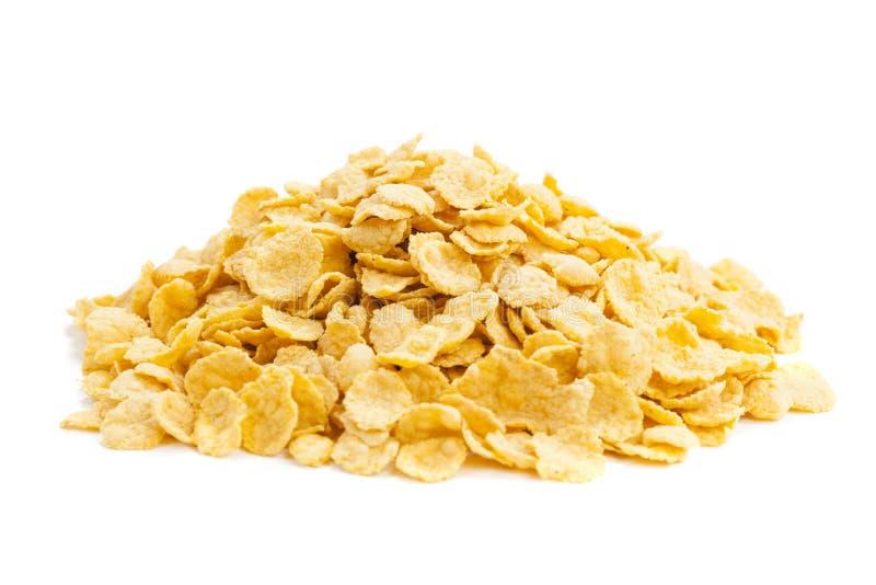 Copos de maíz sanos del cereal imagen de archivo