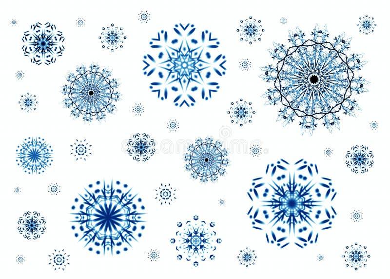 Copos de nieve de la Navidad libre illustration