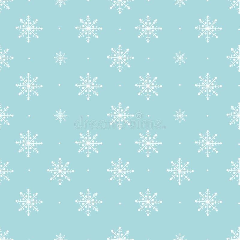 Copos de nieve que dibujan la colección - modelo del vector libre illustration