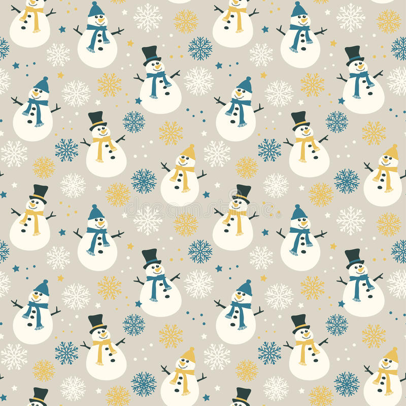 Copos de nieve y nieve libre illustration