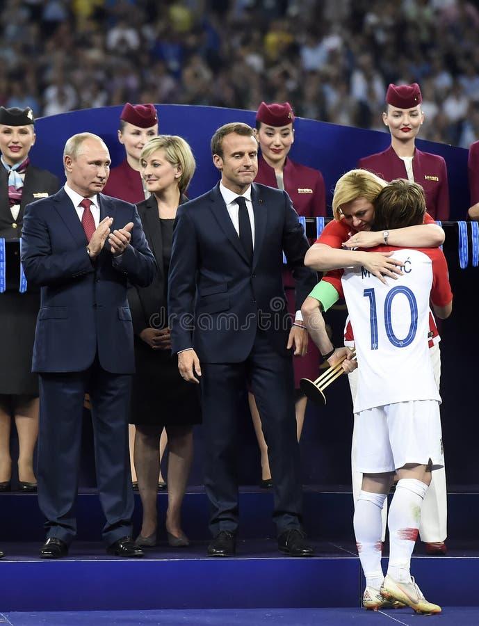 Coppa del Mondo 2018 immagini stock libere da diritti