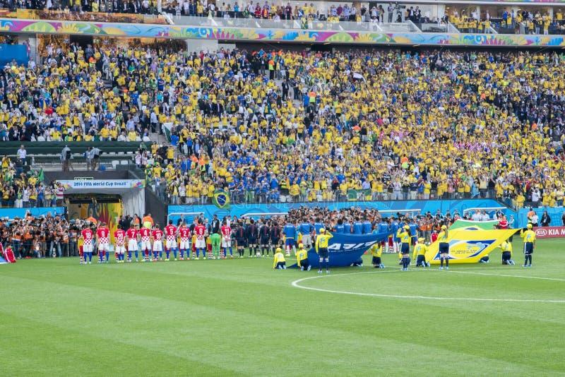 COPPA DEL MONDO BRASILE 2014 DELLA FIFA immagine stock
