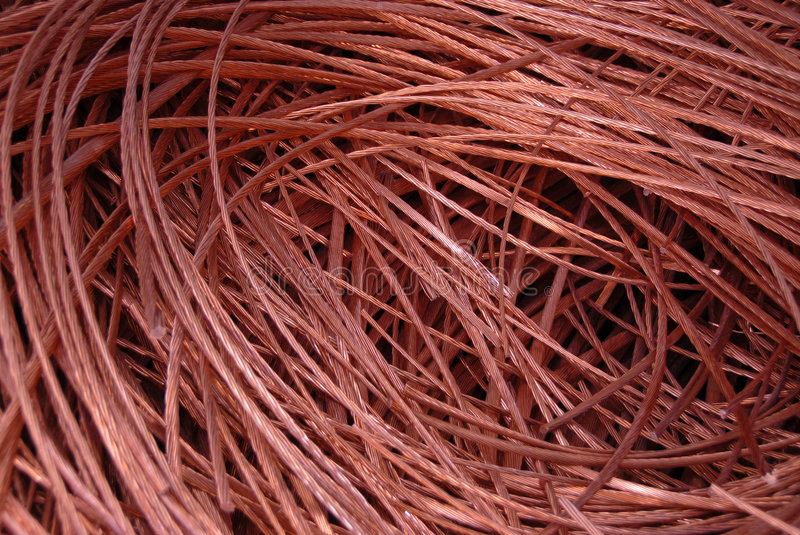 Download Copper stock photo. Image of ferrous, metal, waiste, cables - 850238