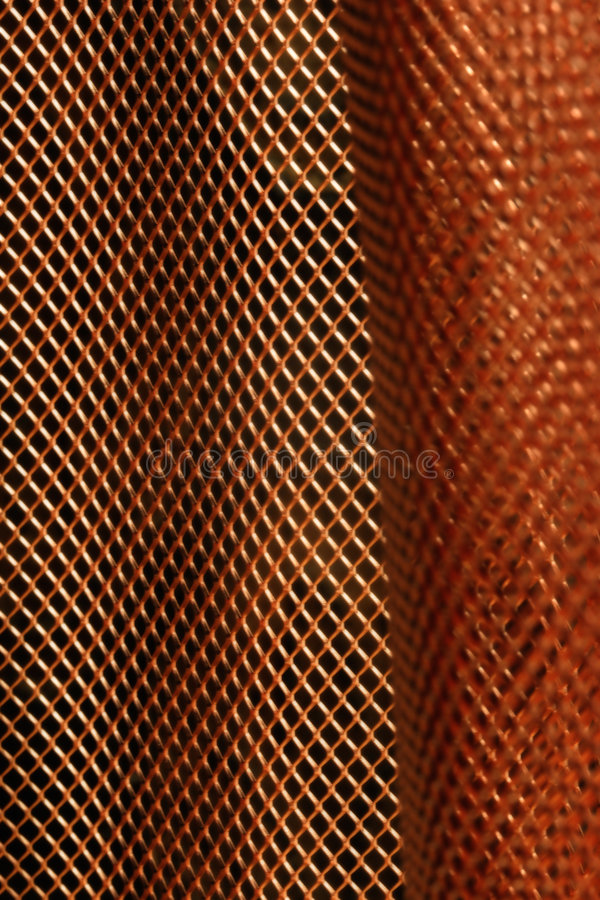 Copper background stock image