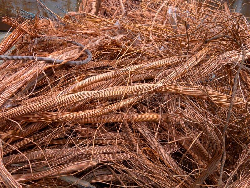 Copper binder fotografering för bildbyråer