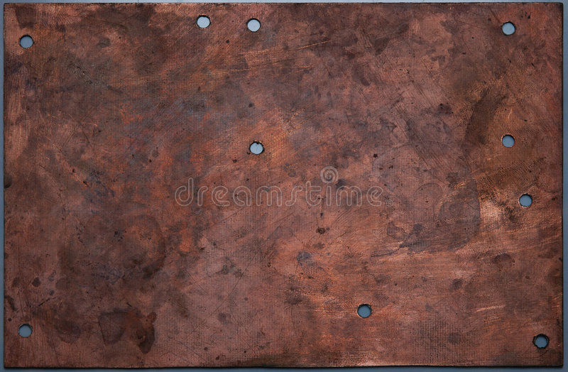 Download Copper Board Royalty Free Stock Images - Image: 3519489