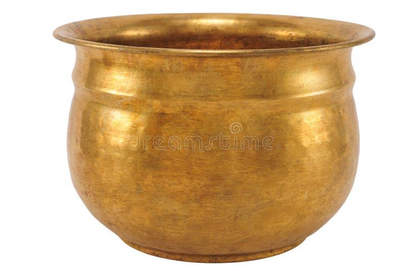 Copper bowl royalty free stock photos