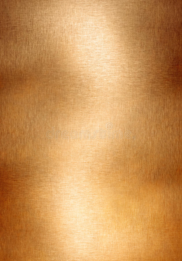 Copper Bronze Brown Metal Background Stock Image Image