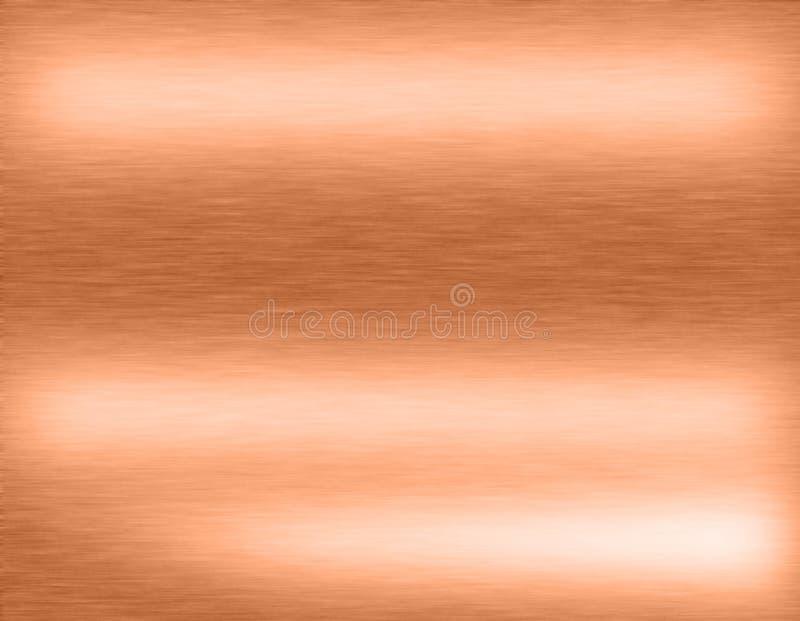 Copper bronze metal background vector illustration