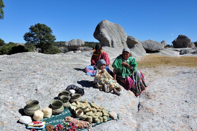Copper Canyon tarahumara people stock photos