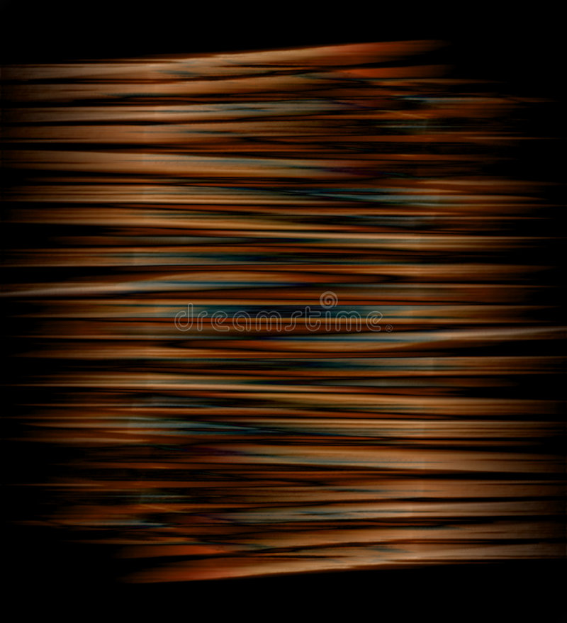 Copper coil. Abstract design like a coil of copper wire stock illustration