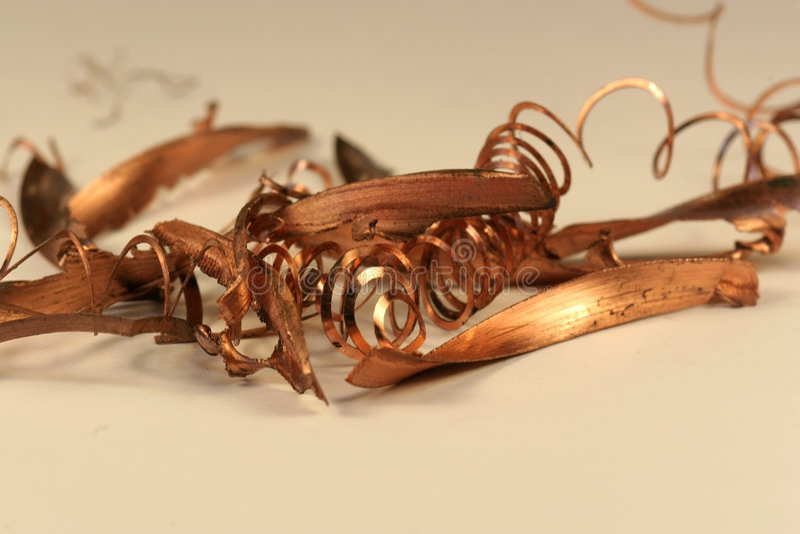 Copper (Cu) Stock Images