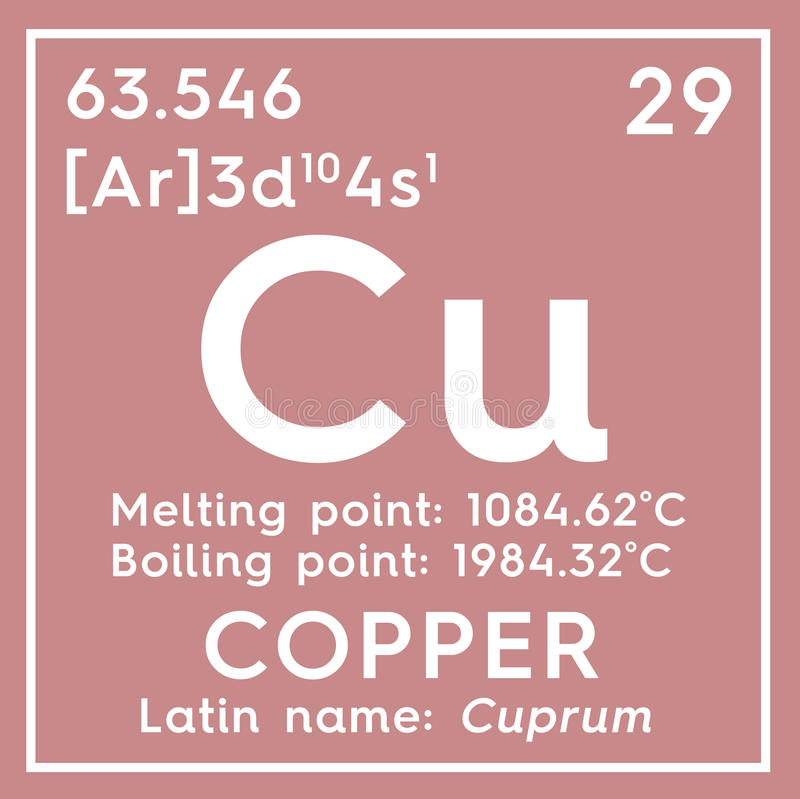 download copper cuprum transition metals chemical element of mendeleevs periodic - Periodic Table Copper Symbol