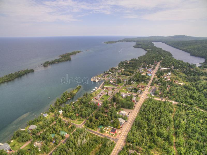 Copper Harbor Michigan royalty free stock images