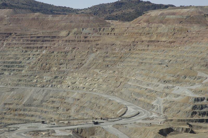 Copper Mine 2 stock photo