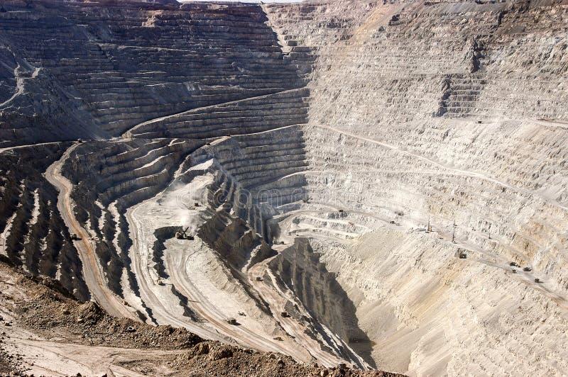 Copper Mine stock photography