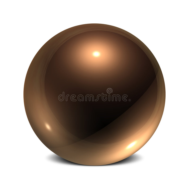 Download Copper Orb Royalty Free Stock Images - Image: 5525529