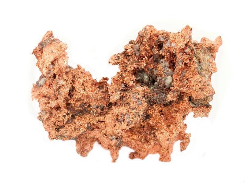 Download Copper Ore stock image. Image of white, geology, rock - 12251665