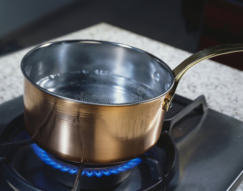 Download Copper pan stock image. Image of water, cooker, object - 7675613