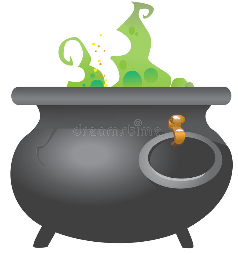 Copper with potion royalty free stock photo