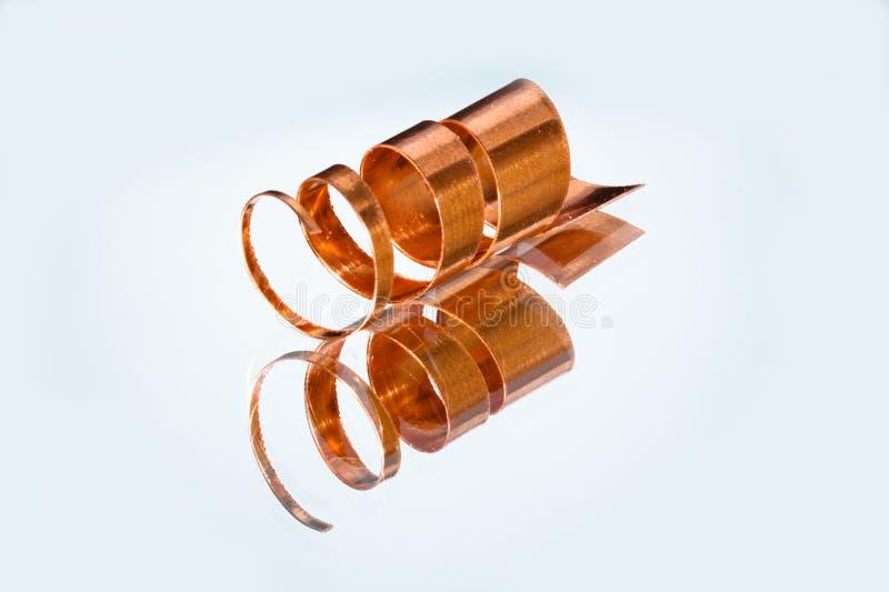 Copper shavings