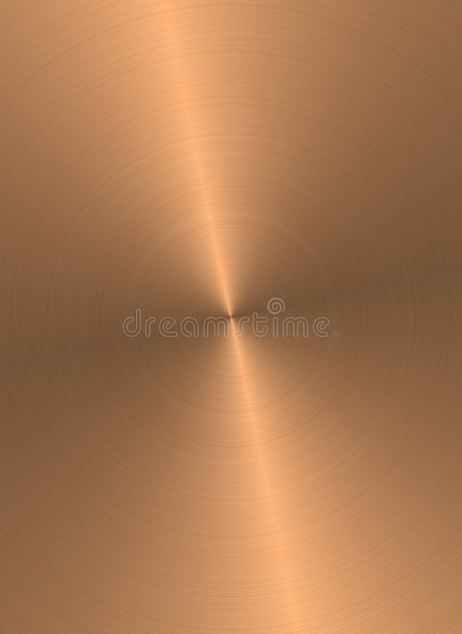Copper surface royalty free illustration