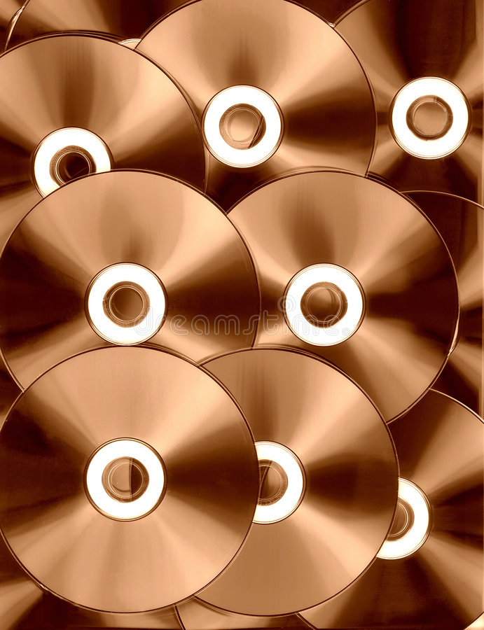 Copper technology royalty free stock photos