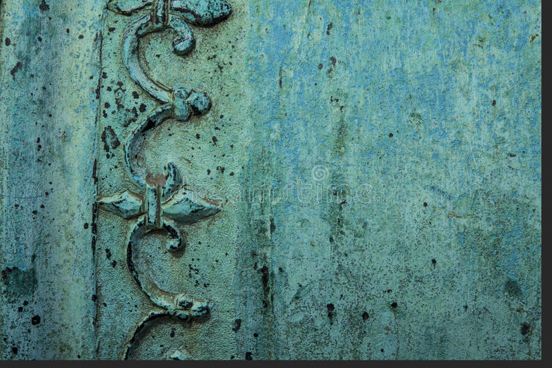Copper texture royalty free stock images