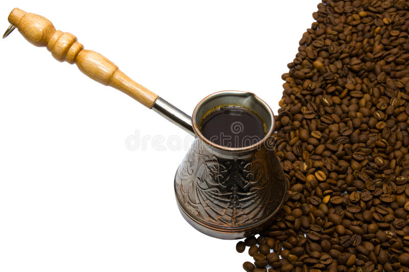 Download Copper a Turk from coffee stock image. Image of gold - 23278997
