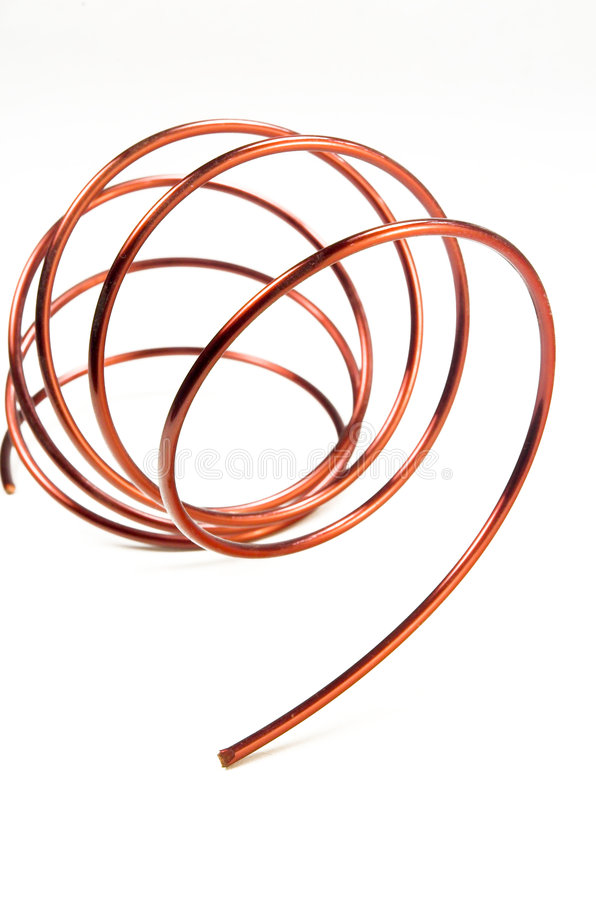 Download Copper Wire stock photo. Image of conduct, space, electricity - 6265488