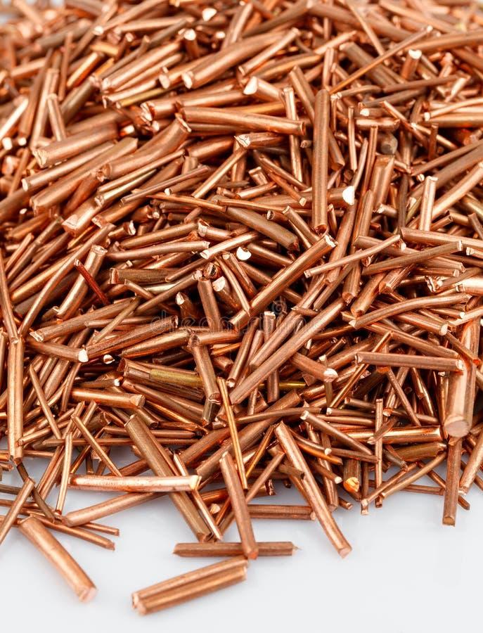 Copper wire stock image