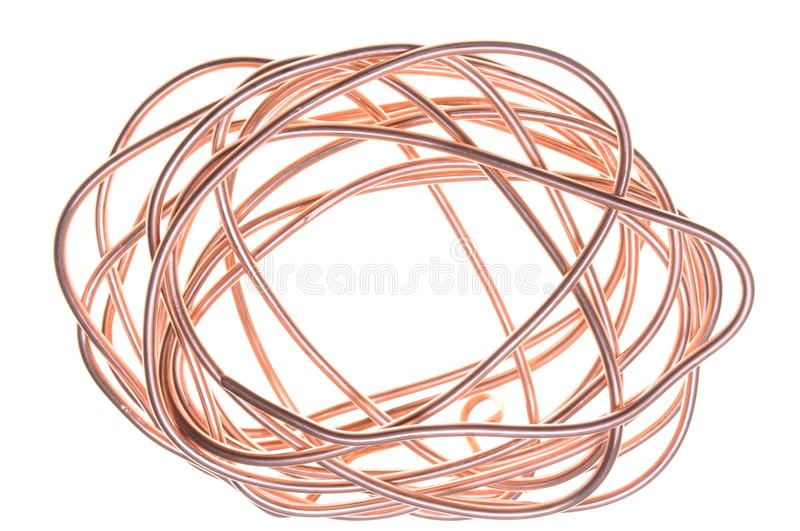 Copper wire stock photo. Image of economy, electron, electricity ...