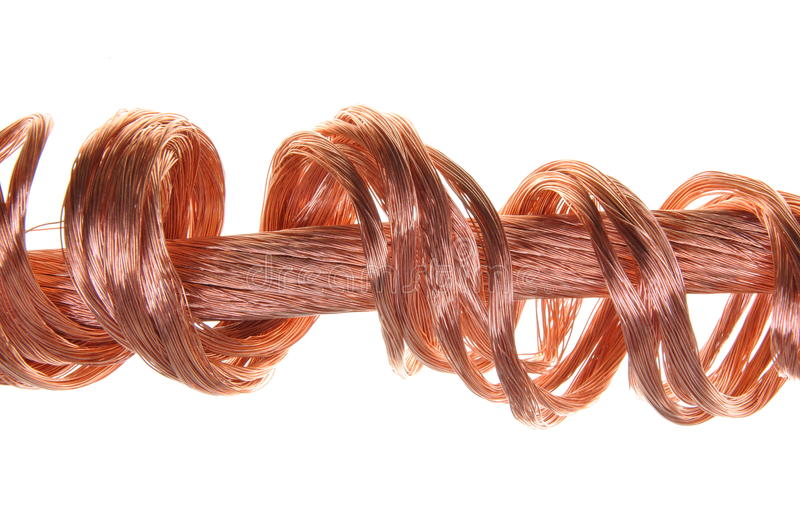 Download Copper Wires Concept Of Energy Power Industry Stock Image - Image of industrial, cool: 28921745