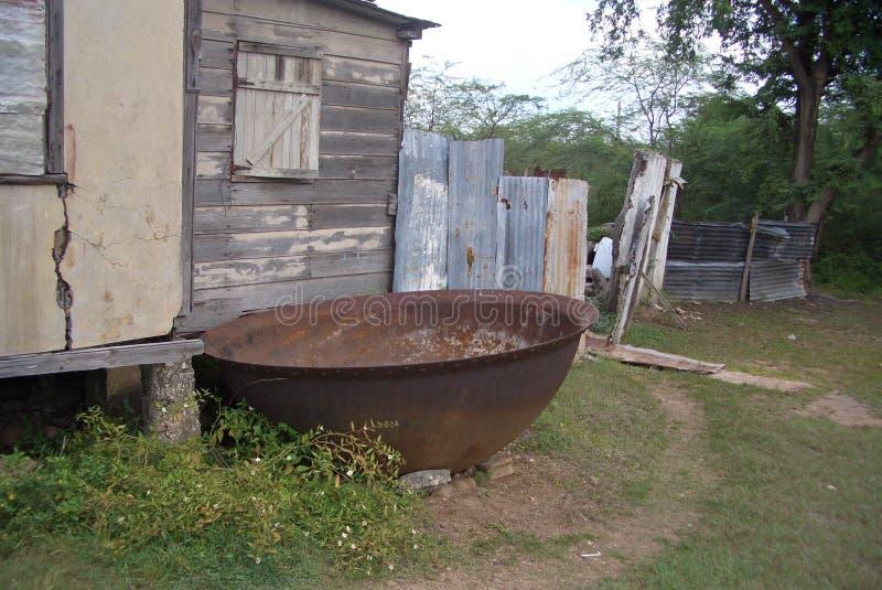 Copperpot stock foto