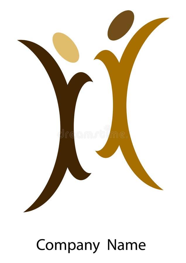 Coppia il marchio royalty illustrazione gratis