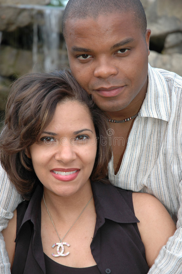 Coppia sposata felice 6 immagini stock