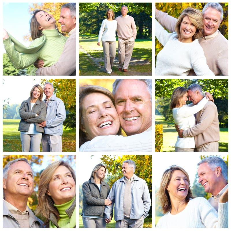 Coppie degli anziani immagine stock