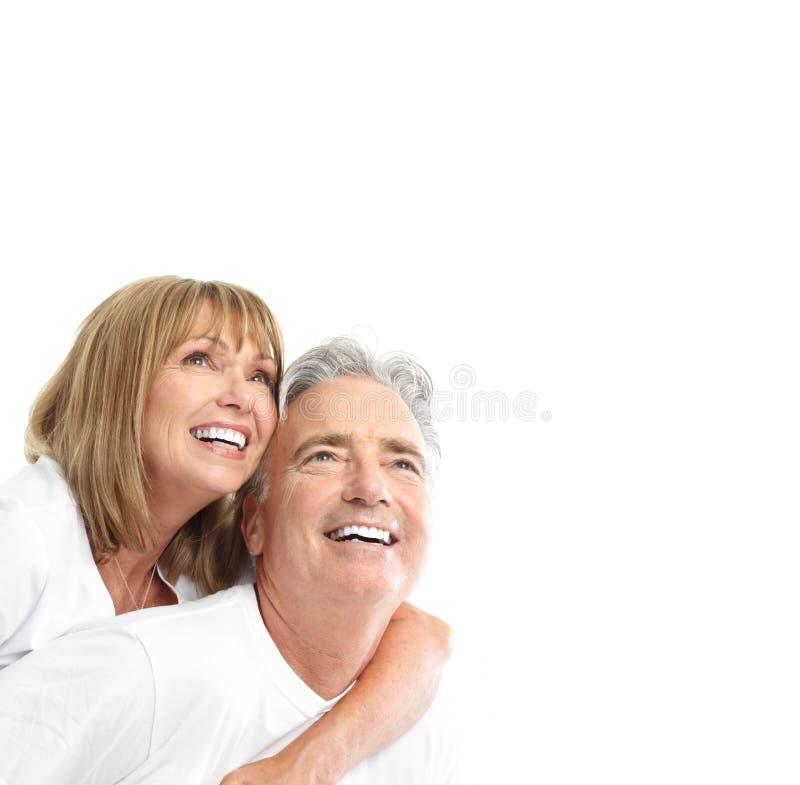 Coppie degli anziani fotografie stock libere da diritti