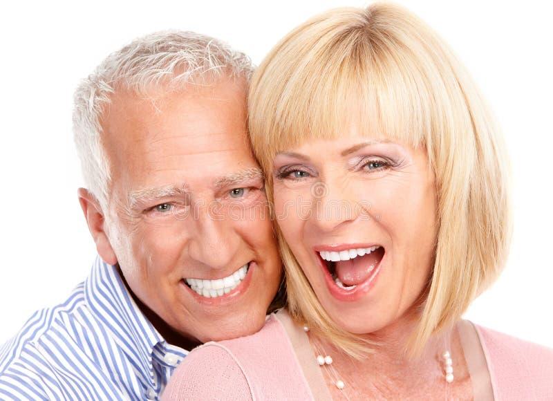 Coppie degli anziani fotografia stock libera da diritti
