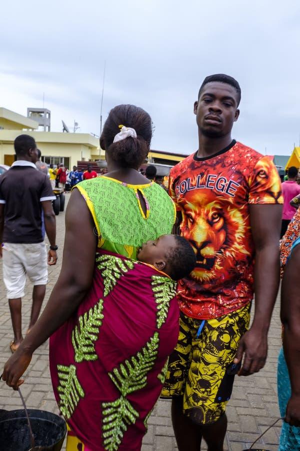 Coppie dei giovani di Sekondi fotografie stock